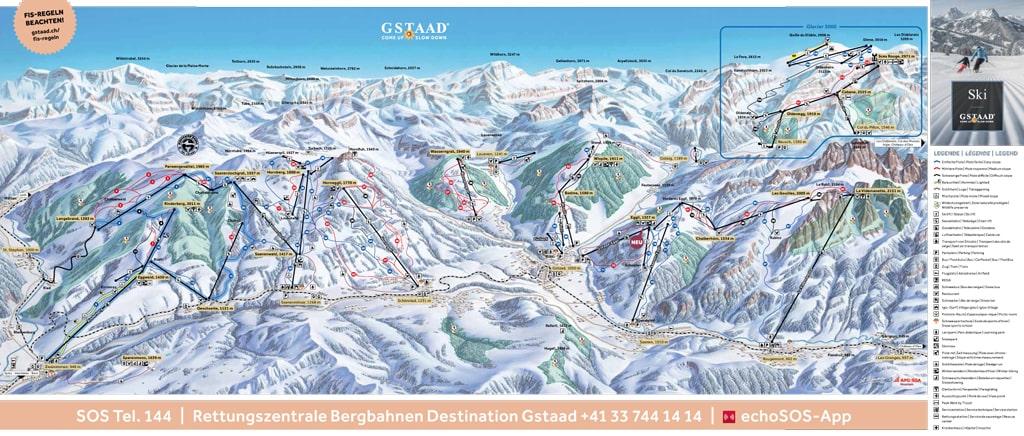 Skimap Gstaad