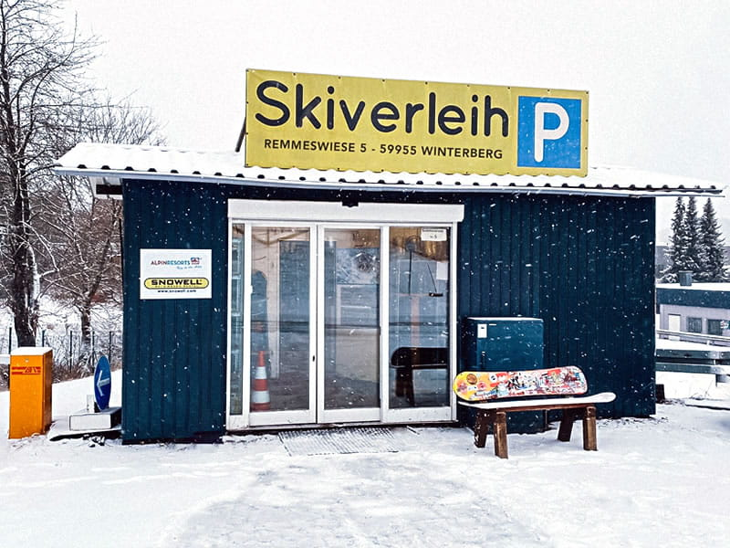 Magasin de location de ski Liftstation Skiverleih à Remmeswiese 5, Winterberg