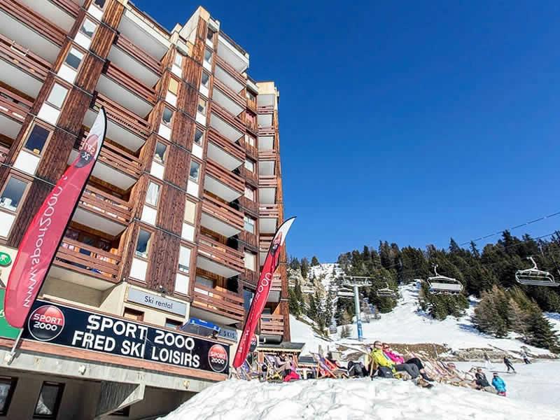 Magasin de location de ski PLAGNE SKI BELLECOTE à Résidence 3000, La Plagne - Bellecote