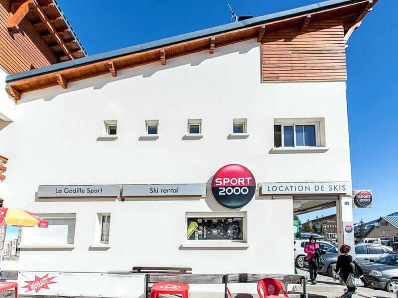 Magasin de location de ski LA GODILLE SPORT à Résidence la Matte, Avenue de Balcere, Les Angles