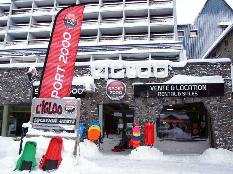 l igloo r sidence le buron super besse location ski snowell. Black Bedroom Furniture Sets. Home Design Ideas