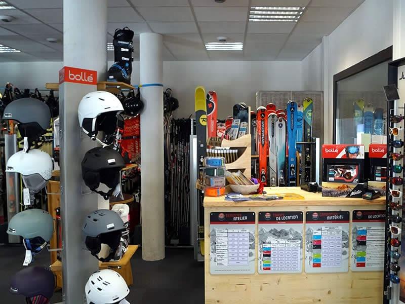 Magasin de location de ski SKI SHOP à Résidence Les Portes du Grand Massif, Flaine