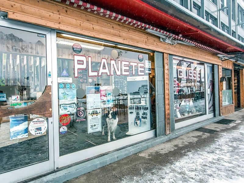 Magasin de location de ski PLANETE GLISSE à Résidence Plein Ciel, Avenue du Tourmalet, La Mongie