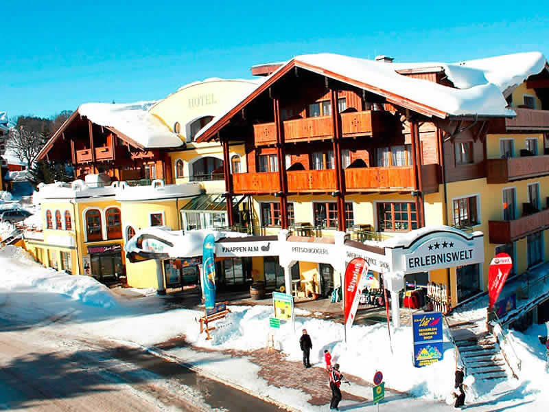 Magasin de location de ski Schi-Lenz à Rohrmoosstrasse 215 [Rohrmoos Zentrum], Schladming-Rohrmoos