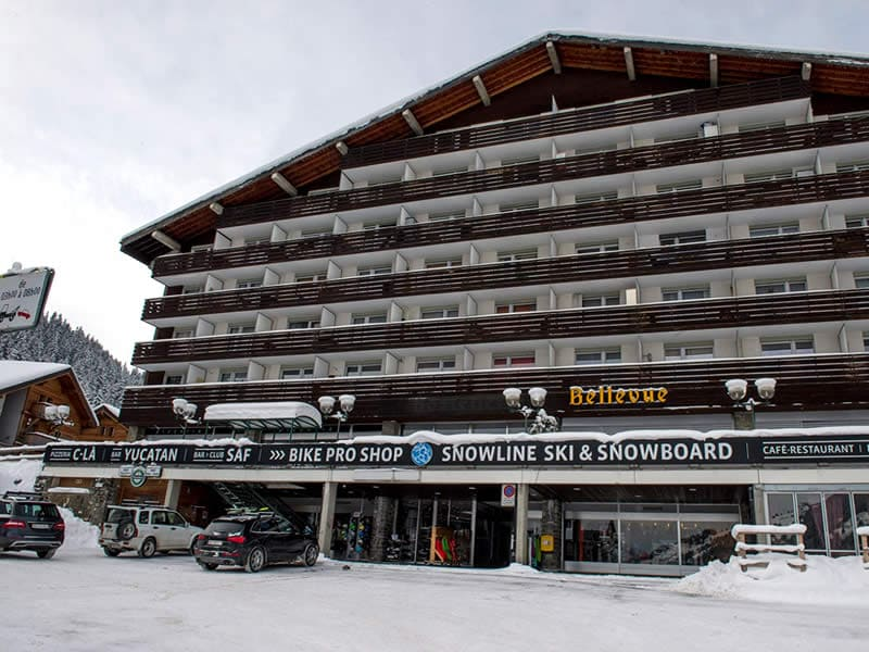 Magasin de location de ski Snowline, Route de France 22 à Morgins