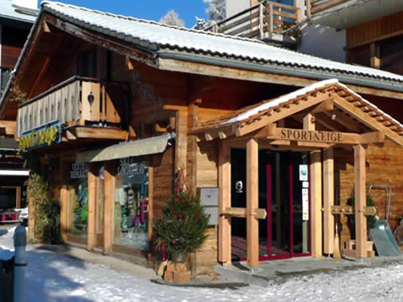 Magasin de location de ski Sport Neige, Route de Pra 2 à Veysonnaz