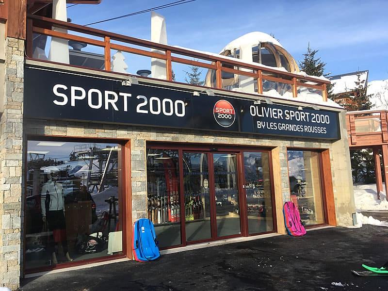 Magasin de location de ski OLIVIER SPORTS, Route du Signal (centre station) à Alpe d'Huez