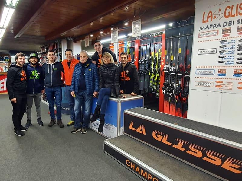 Magasin de location de ski Ski rent La Glisse à Route Ramey 65 - Ayas, Champoluc