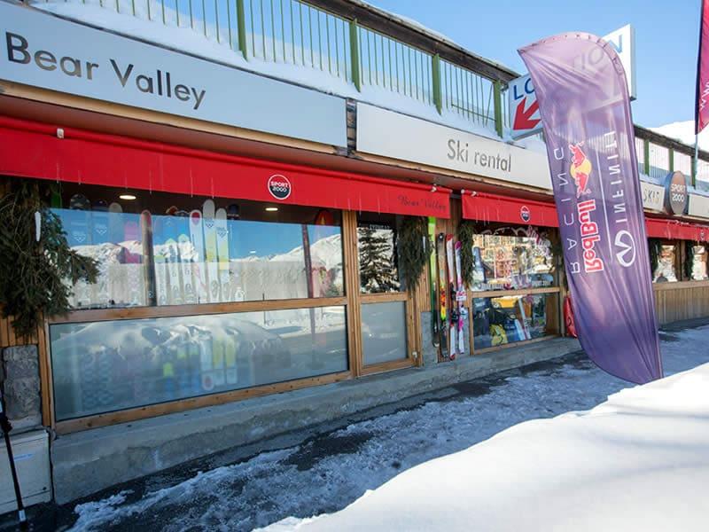 Magasin de location de ski BEAR VALLEY à Rue des Ecrins - Centre Station, Orcieres Merlettes
