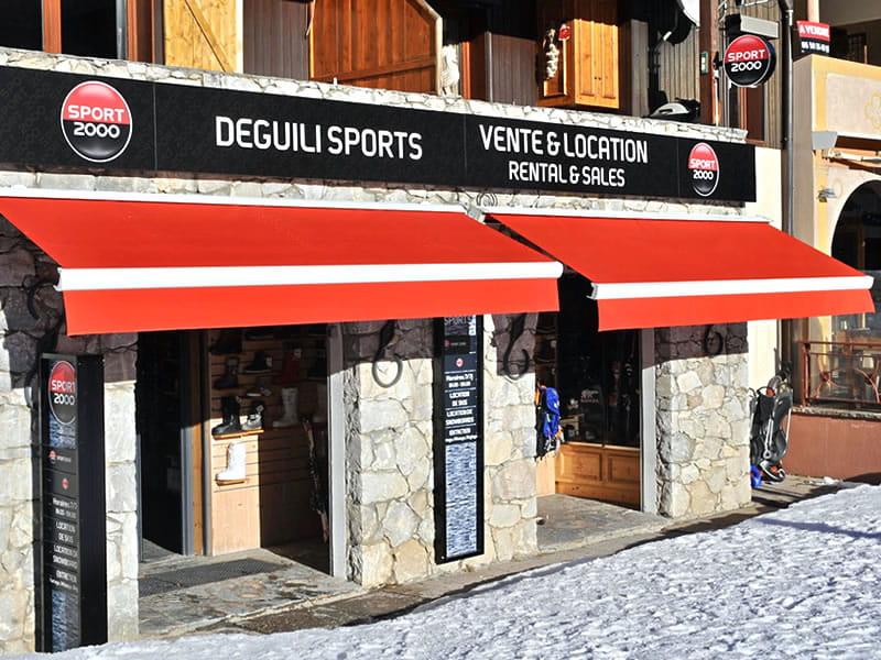 Magasin de location de ski DEGUILI SPORTS à Rue du Bourg, Bourg Morel n°1, Valmorel