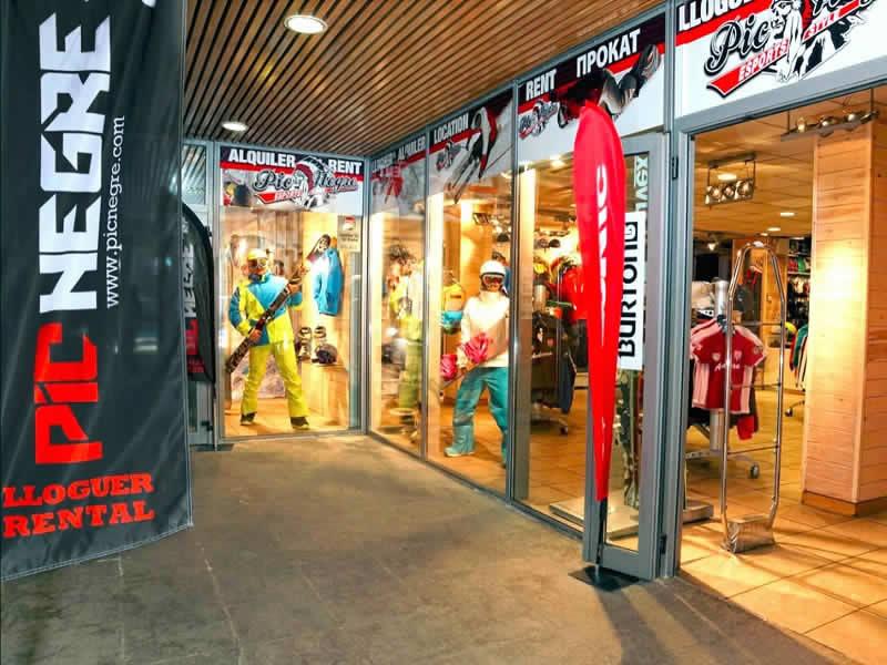 Magasin de location de ski Pic Negre IX à Salida Telecabina Canillo, Canillo