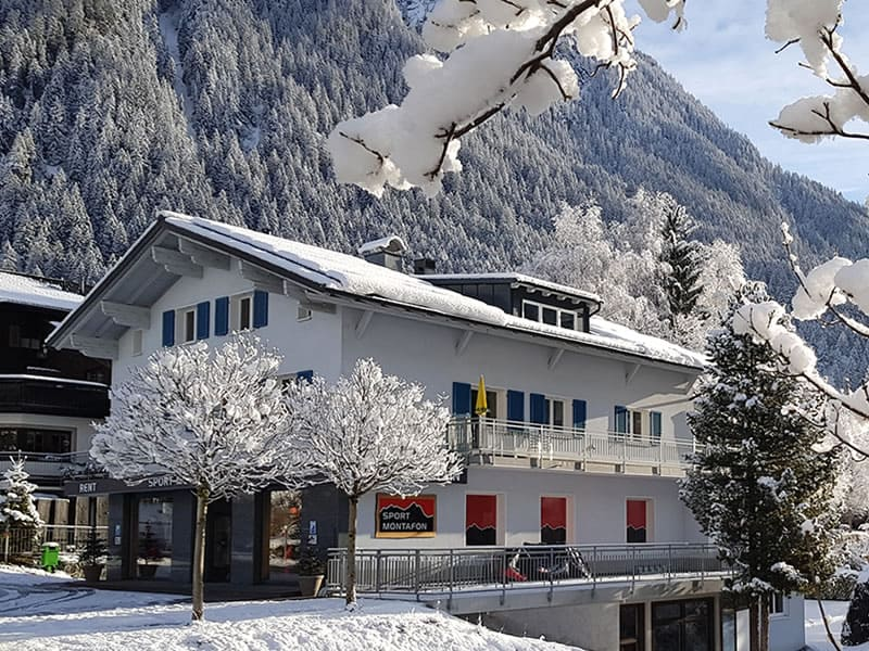 Magasin de location de ski Sport Montafon Schulstrasse à Schulstrasse 6b [50m zur Talstation Versettla], Gaschurn
