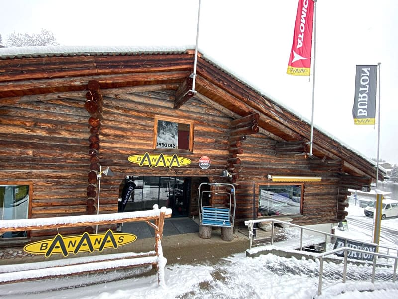 Magasin de location de ski Bananas by Gisler Sport à Seeblickstrasse 6, Arosa