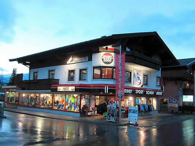 Magasin de location de ski SPORT 2000 Glaser à Sigmund-Thun-Strasse 20, Kaprun