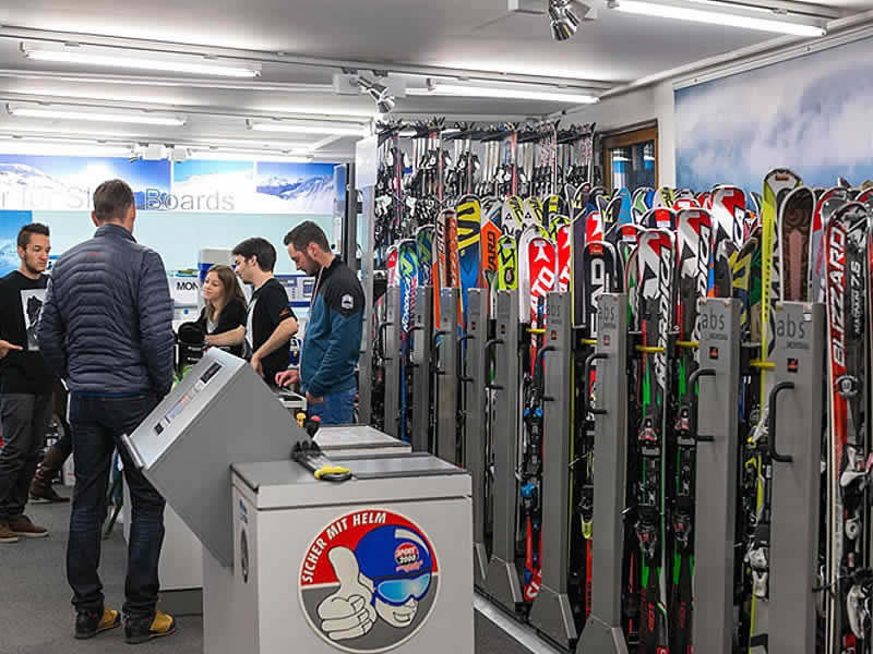 Magasin de location de ski Sporthaus Narr à Silvrettastrasse 178, See im Paznaun