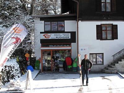 Magasin de location de ski Sportshop Rudigier, Schruns à Silvrettastrasse 5