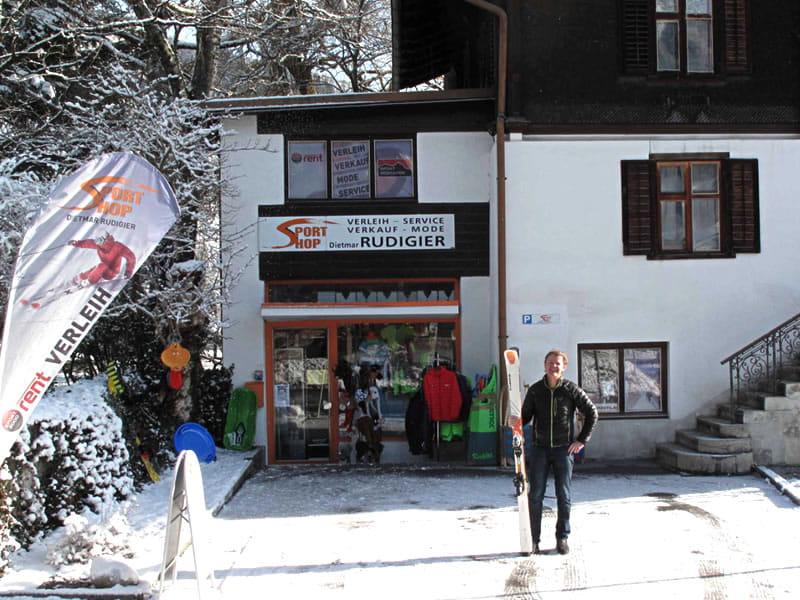 Magasin de location de ski Sportshop Rudigier à Silvrettastrasse 5, Schruns