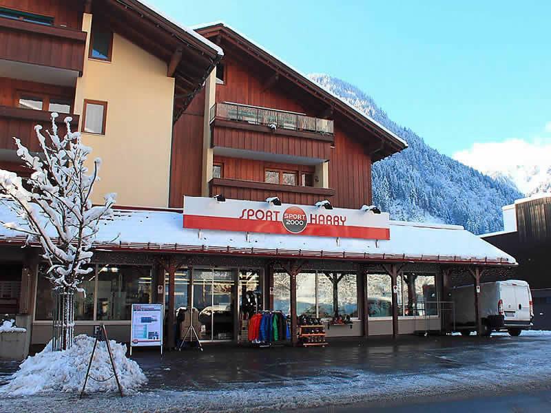 Magasin de location de ski Sport Harry's à Silvrettastrasse 7, St. Gallenkirch