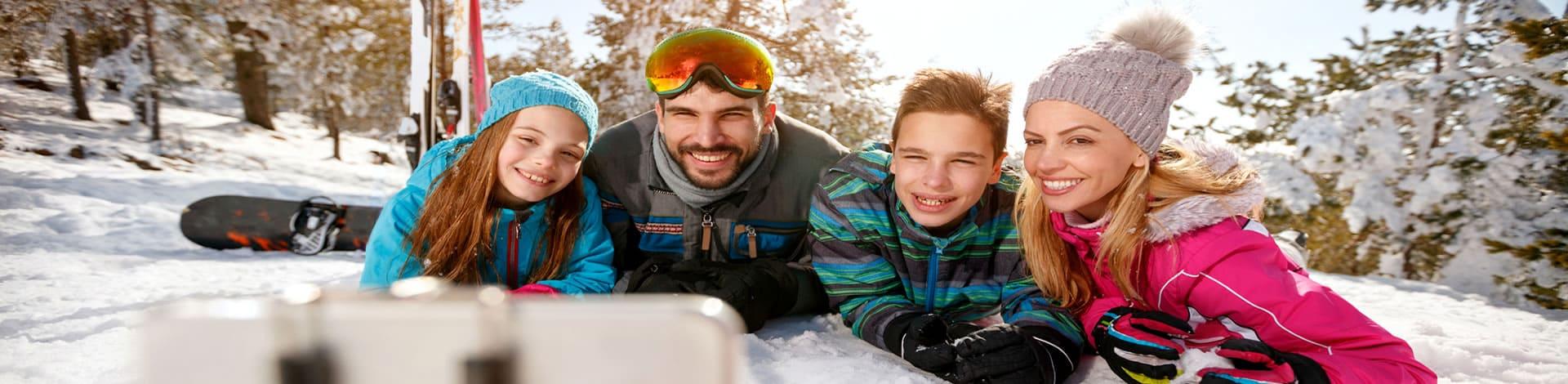 Check-list pour les vacances au ski en famille