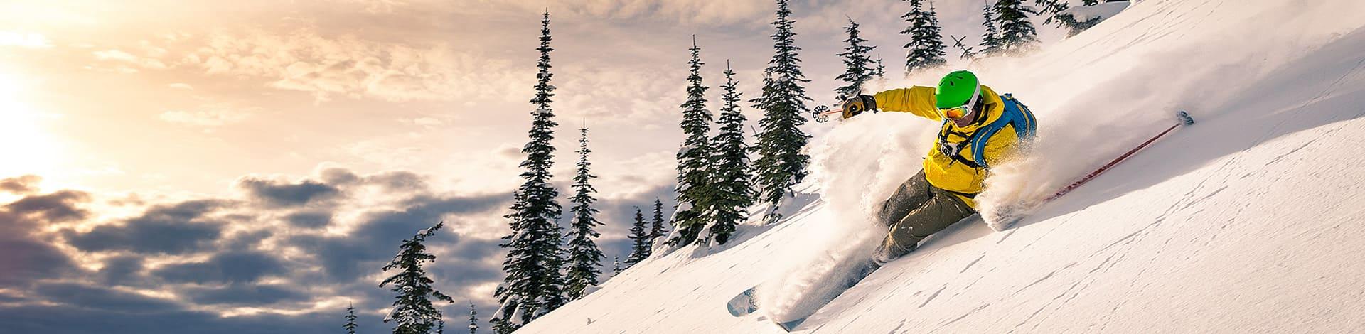 Skier avec les nouveautés et les tendances 2019