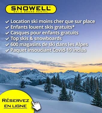 Maintenant : Annulation et changement de réservation gratuits ❄️👍🏻❄️ pour toutes les réservations de l'hiver 2021/2022 ❄️👍🏻❄️ location ski en ligne avec SNOWELL
