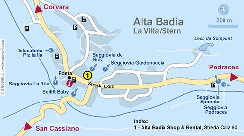 Plan Alta Badia-La Villa/Stern