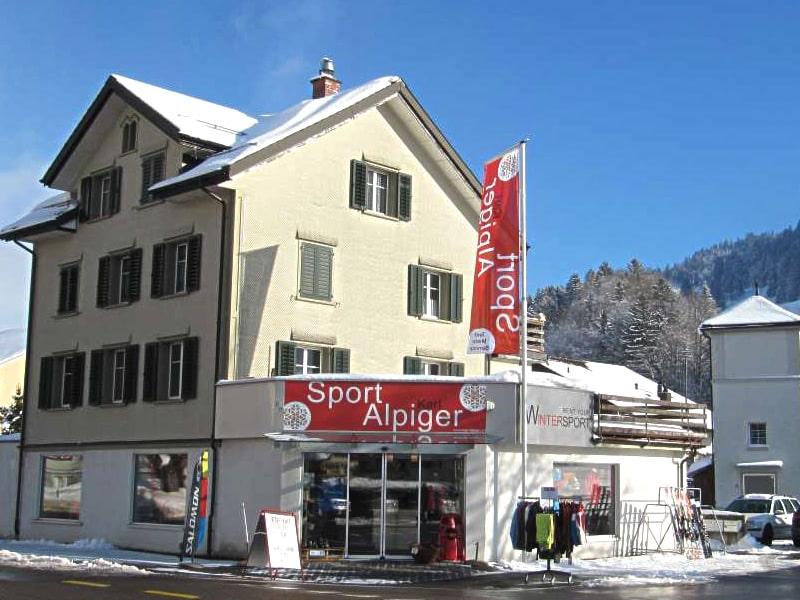 Magasin de location de ski Sport Karl Alpiger à Talstation Bergbahn, Alt St. Johann