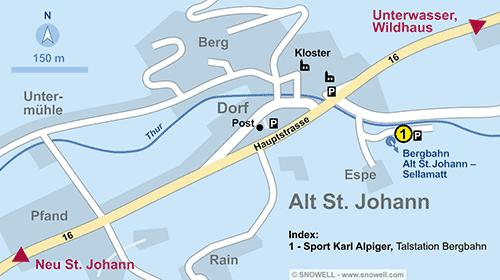 Plan Alt St. Johann