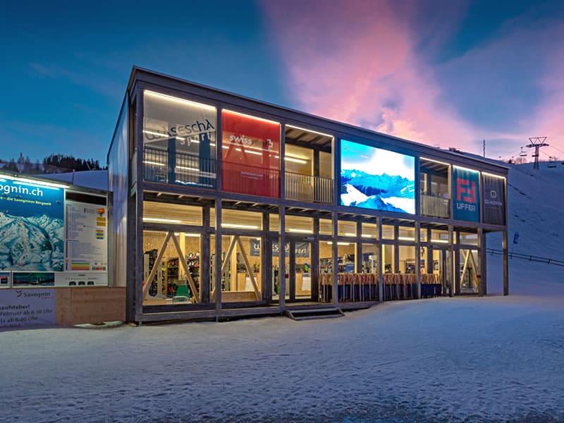 Magasin de location de ski Wasescha Sport Rent à Talstation Bergbahnen, Savognin