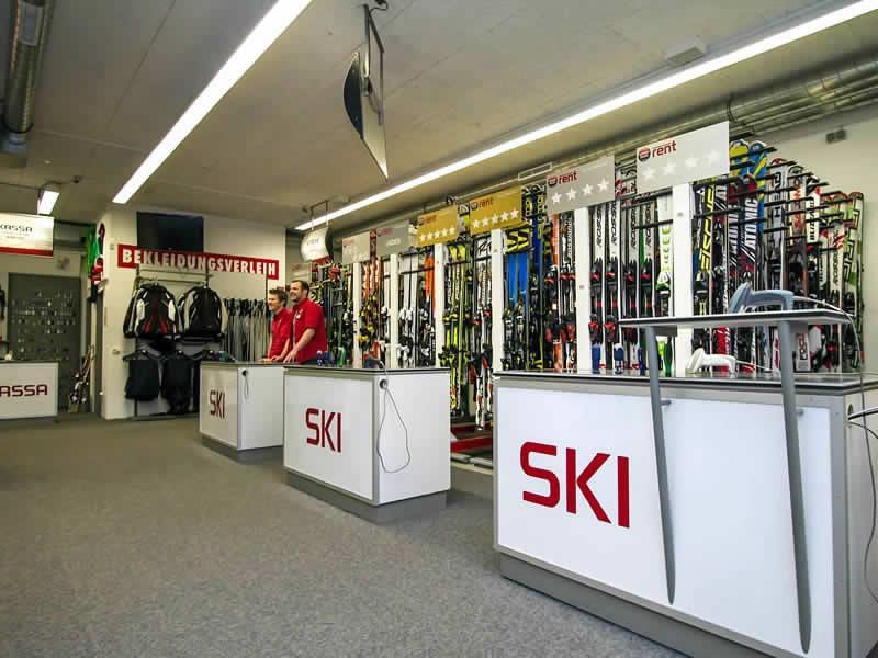 Magasin de location de ski SPORT 2000 Check In à Talstation Gondelbahn Streuböden, Lindau 16b, Fieberbrunn