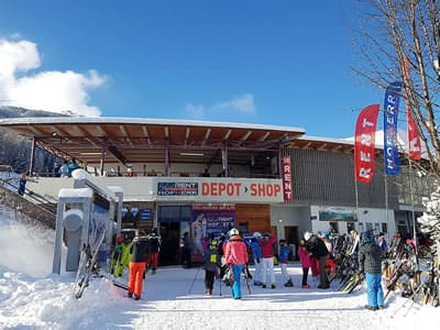 Magasin de location de ski Hofherr Sport, Lermoos à Talstation Grubigsteinbahn - Juch 3