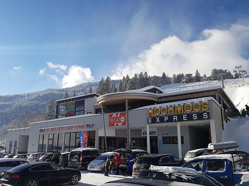 Magasin de location de ski Hofherr Sport à Talstation Hochmooslift - Mösle 2a, Lermoos