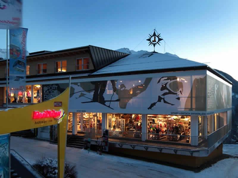 Magasin de location de ski Sport Lentsch - Sport vor Ort à Talstation Hochzeigerbahn Jerzens, Arzl im Pitztal