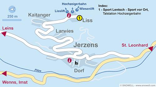 Plan Jerzens