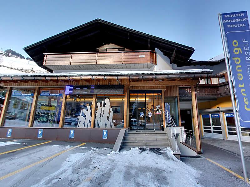 Magasin de location de ski Rent and go à Talstation Kabinen-Umlaufbahn Gassl - Gassl 21, Olang