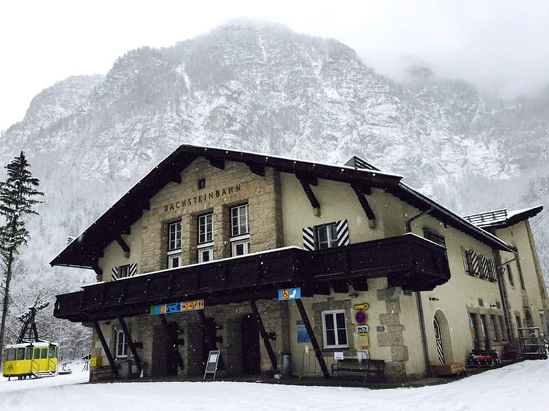 Magasin de location de ski Dachstein Sport Janu à Talstation Krippensteinbahn [Obertraun], Obertraun/Hallstatt