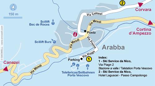 Plan Arabba