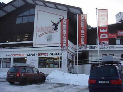 Magasin de location de ski SPORT 2000 Ski Sport Salvista, Itter à Talstation Salvista Gondelbahn