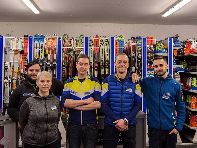Magasin de location de ski Sportservice Erwin Stricker à Talstation Seilbahn Naif - Meran 2000, Meran 2000
