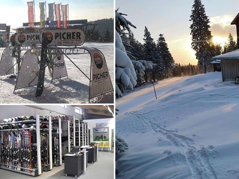 Magasin de location de ski SPORT 2000 Picher à Talstation Sessellift, Aspangberg - St. Peter