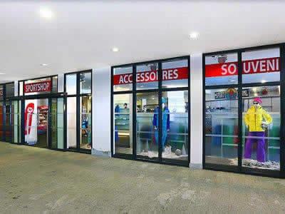 Magasin de location de ski Sport-Shop, Sölden à Tiefenbach Gletscher [Direkt beim Restaurant]