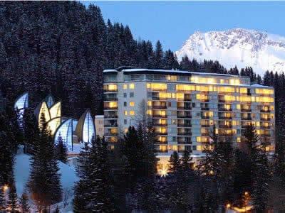 Magasin de location de ski Gisler Sport, Arosa à Tschuggen Grand Hotel