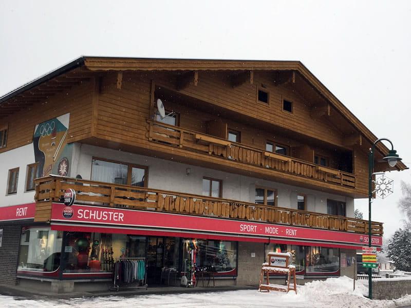 Magasin de location de ski SPORT 2000 Schuster à Unterdorf 2, Lermoos