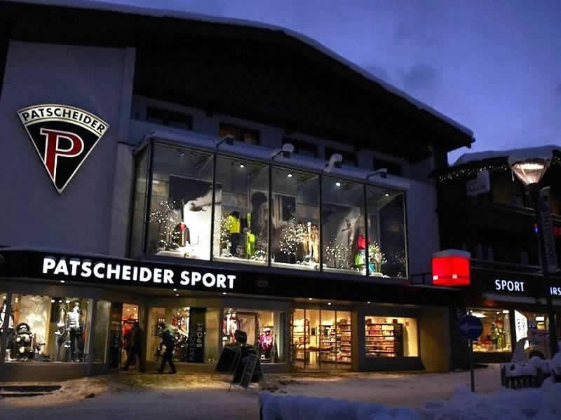 Magasin de location de ski Sport Patscheider à Untere Dorfstrasse 27, Serfaus