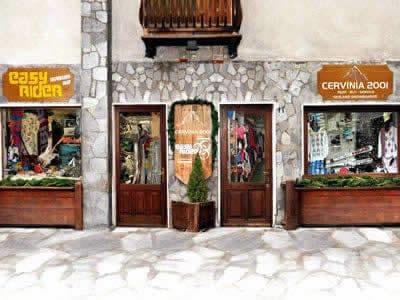 Magasin de location de ski Cervinia 2001, Breuil Cervinia à Via Carrel, 11