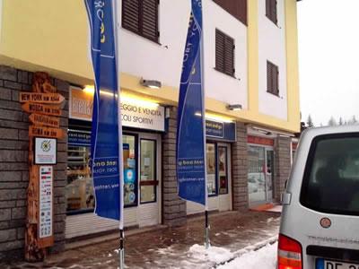 Magasin de location de ski Noleggio del Brenta Campiglio Nord, Madonna di Campiglio à Via Cima Tosa, 87