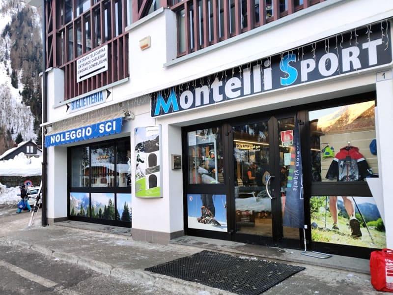 Magasin de location de ski Montelli Sport, Via dei Cavai, 1 à Pejo