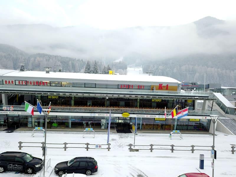Magasin de location de ski Rentasport Kronplatz à Via Funivia/Seilbahnstrasse 12b, Bruneck/Reischach