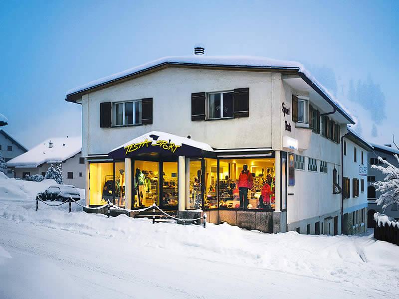 Magasin de location de ski Testa Sport, Via Maistra 49 à Celerina