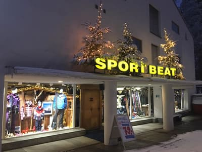 Magasin de location de ski Sport Beat, Flims à Via Nova 49